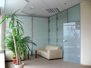 ALT110 office partition wall system
